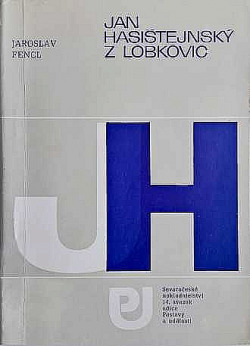 Jan Hasištejnský z Lobkovic obálka knihy
