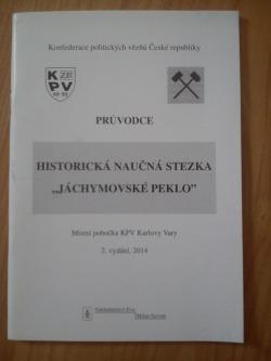 """Historická naučná stezka """"Jáchymovské peklo"""" obálka knihy"""