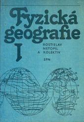 Fyzická geografie I obálka knihy