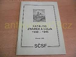 Katalog známek a celin 1939-1945 obálka knihy