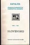 Katalóg československých poštových známok 1939-1945 Slovensko