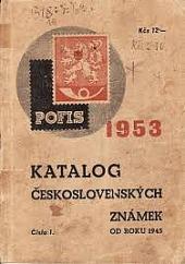 KATALOG ČESKOSLOVENSKÝCH ZNÁMEK OD ROKU 1945 obálka knihy