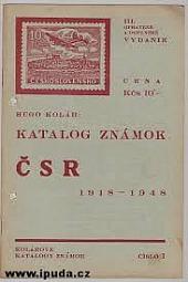 Katalog známok ČSR 1918-1948
