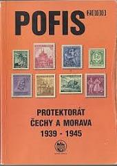 Pofis 2000 Protektorát Čechy a Morava 1939 - 1945 obálka knihy
