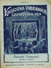 Čaroděj Černobýl obálka knihy