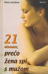 21 dôvodov, prečo žena spí s mužom obálka knihy