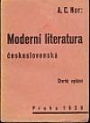 Moderní literatura československá