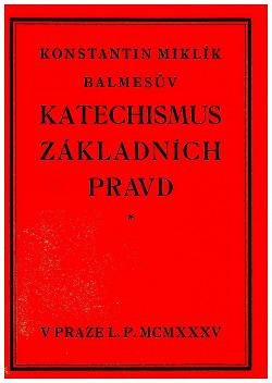 Katechismus základních pravd obálka knihy