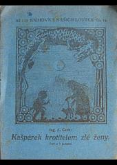 Kašpárek krotitelem zlé ženy obálka knihy