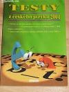 Testy z českého jazyka 2004