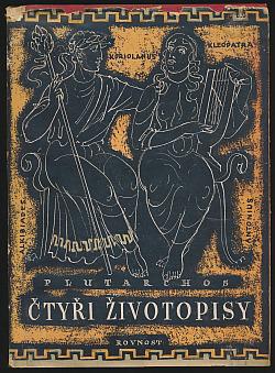 Čtyři životopisy obálka knihy