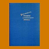 Bibliografie českého amatérského divadla obálka knihy