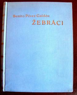 Žebráci obálka knihy