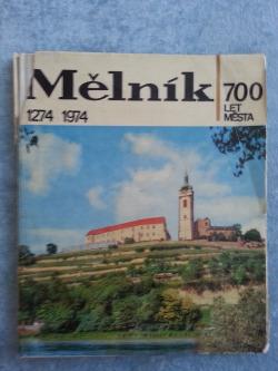 Mělník - 700 let města 1274-1974 obálka knihy