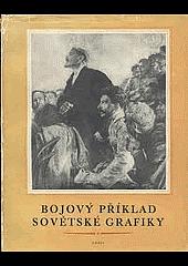 Bojový příklad sovětské grafiky obálka knihy