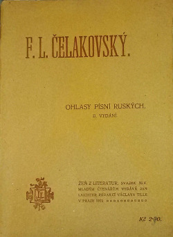 Ohlasy písní ruských obálka knihy