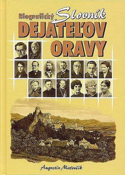 Biografický slovník dejateľov Oravy obálka knihy