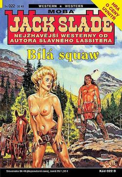 Bílá squaw obálka knihy