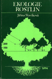 Ekologie rostlin obálka knihy