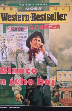 Blanco a jeho boj obálka knihy
