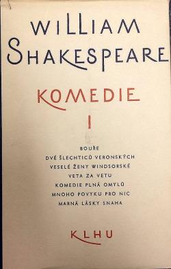 Komedie I. obálka knihy