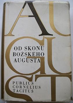 Od skonu božského Augusta obálka knihy