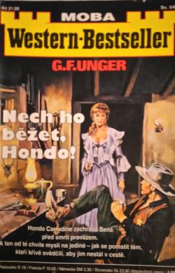 Nech ho běžet, Hondo! obálka knihy