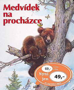Medvídek na procházce obálka knihy
