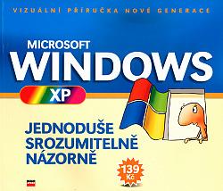 Microsoft Windows XP obálka knihy