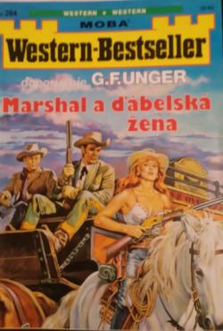 Marshal a ďábelská žena obálka knihy