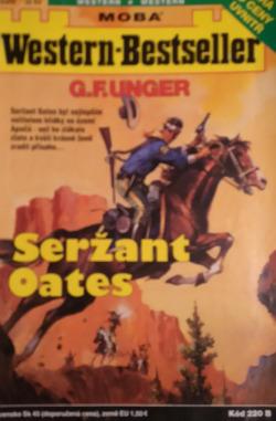 Seržant Oates obálka knihy