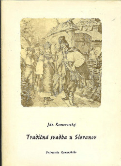Tradičná svadba u Slovanov obálka knihy