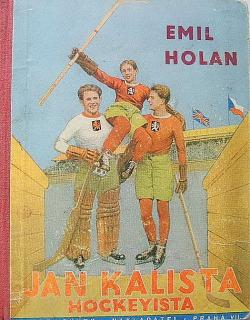 Jan Kalista hockeyista obálka knihy