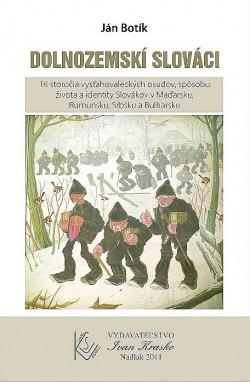Dolnozemskí Slováci obálka knihy
