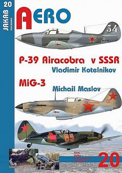 P-39 Airacobra v SSSR / MiG-3 obálka knihy