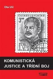 Komunistická justice a třídní boj obálka knihy