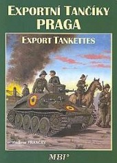 Exportní tančíky Praga obálka knihy