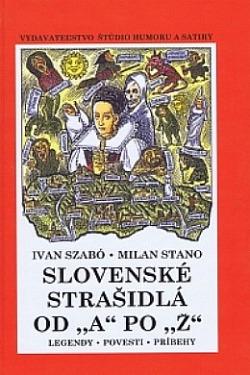 Slovenské strašidlá od A po Z obálka knihy