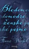 Bledomodré ženské písmo