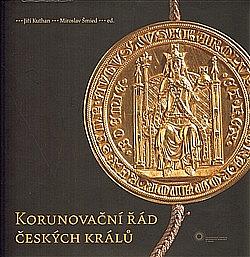 Korunovační řád českých králů obálka knihy