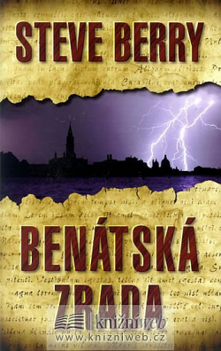 Benátská zrada obálka knihy