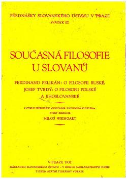 Současná filosofie u Slovanů