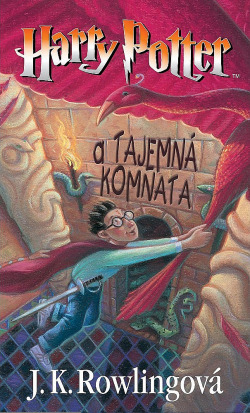 Harry Potter a Tajemná komnata obálka knihy