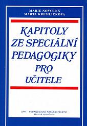 Kapitoly ze speciální pedagogiky pro učitele obálka knihy