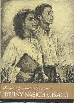 Dějiny našich cikánů obálka knihy