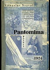 Pantomima obálka knihy