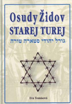 Osudy Židov Starej Turej obálka knihy