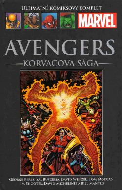Avengers: Korvacova sága obálka knihy