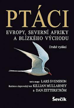Ptáci Evropy, Severní Afriky a Blízkého východu obálka knihy