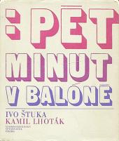 Pět minut v balóně obálka knihy